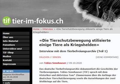 TiF veröffentlicht Interview mit uns